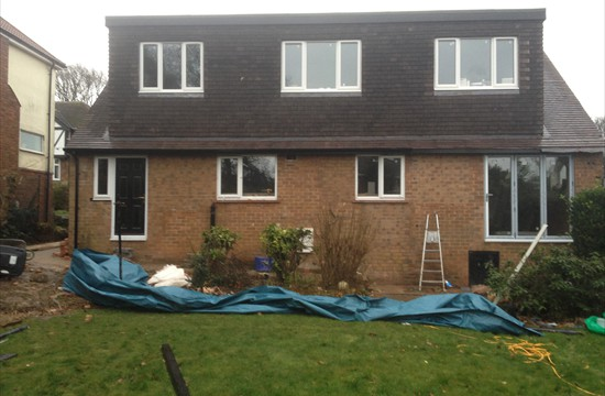 New First Floor, 10m Wide Dormer Extension & Extensive Internal Alterations - Adel - 0070