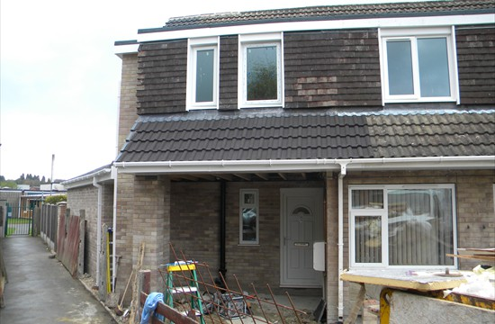 Part Two Storey, Part Single Storey Extension in Garforth, Leeds 0098