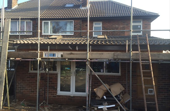 Two Storey Side, Single Storey Rear Extension, Gledhow, Leeds - 0098